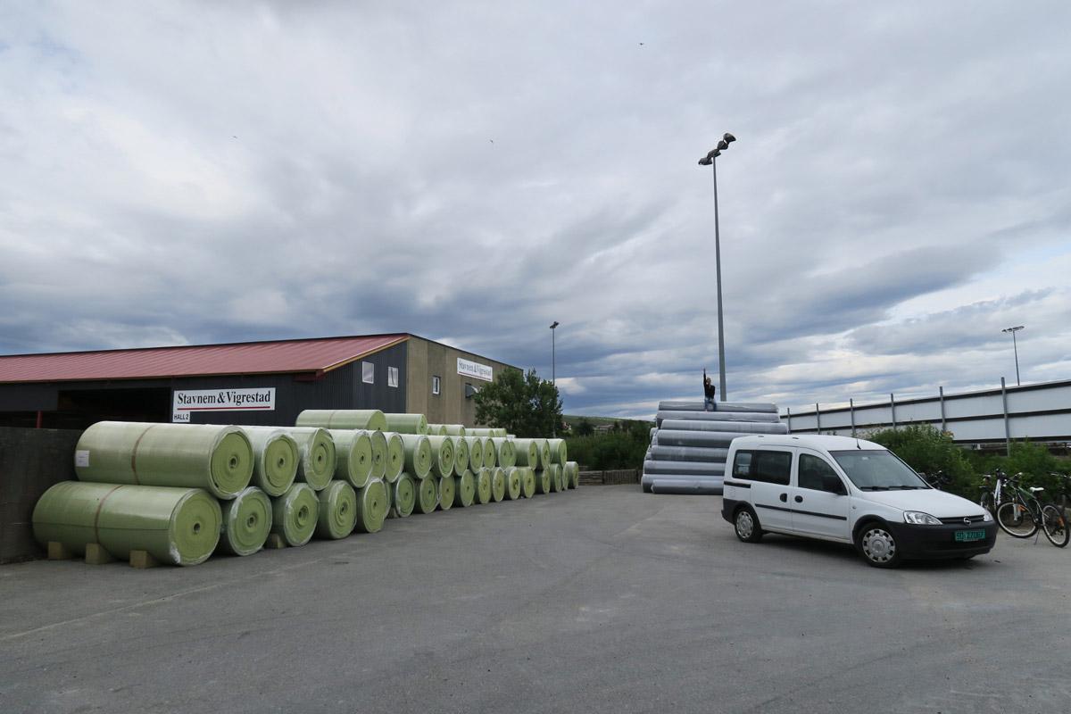 Installasjon av kunstgressbane for Vigrestad IK
